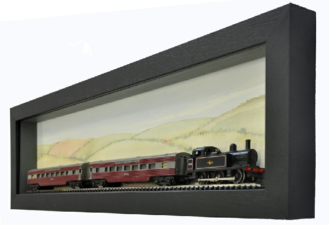 Model Train and Carriages