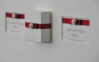 Framed Wedding Memorabilia