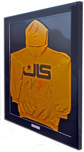 Framed JLS Signed Hoodie