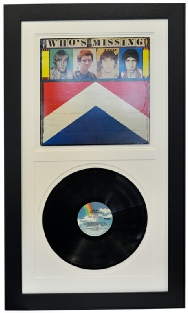 Framing LP Records with Covers