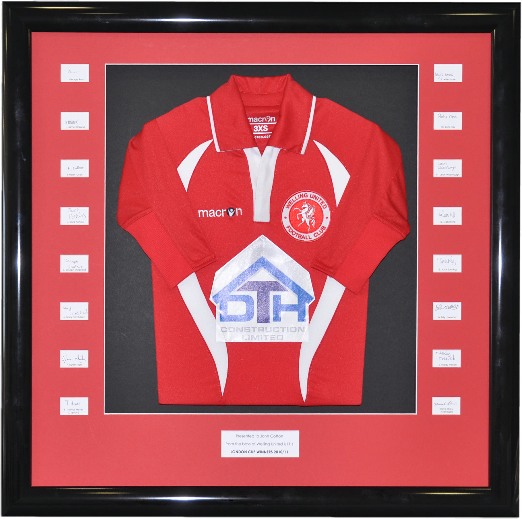 Sports Shirt and Football Shirt Framing