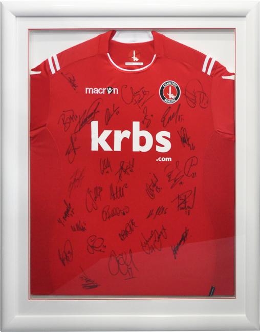 Framed Charlton Shirt (Red)