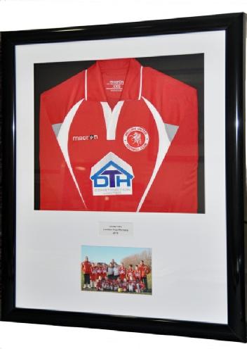 Framed Welling United Football Shirt