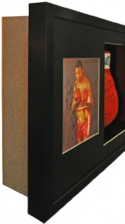 Boxing Glove with Extra Photographs