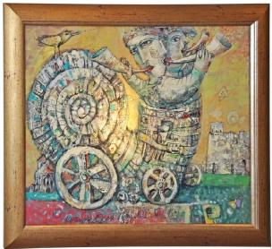 Framed Vasily Martynchuk