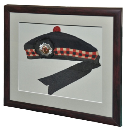 Framed World War II Beret