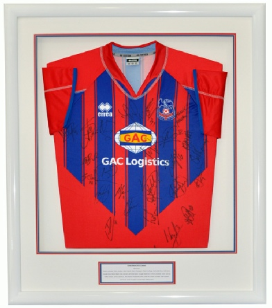Framed Crystal Palace Football Shirt