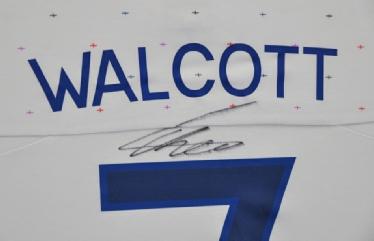 Theo Walcott Signed Shirt