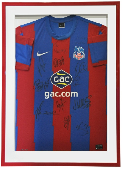 Crystal Palace Shirt in a Red Frame