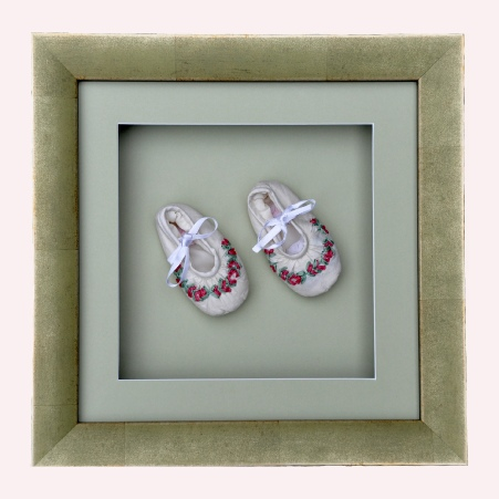 Framed Baby Shoes