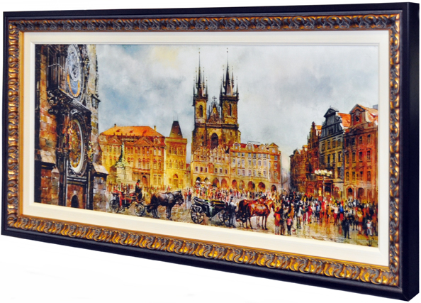 Prague Print on Canvas