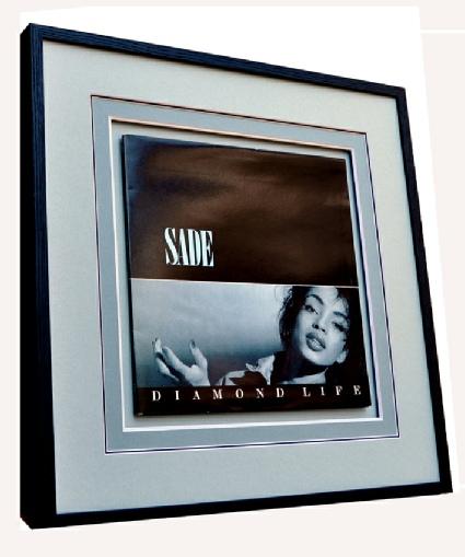 Framed Sade LP