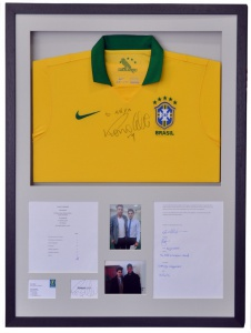 Signed Ronaldo Brazil Shirt 01 72dpi