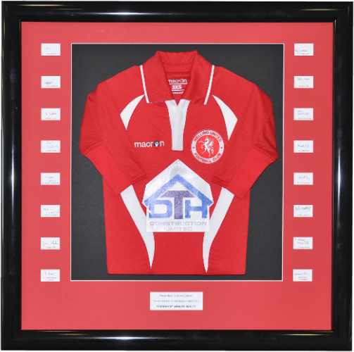 Sports Shirt and Football Shirt Framing